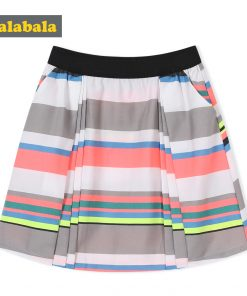 Balabala 2018 summer Children clothing girls sweet Clothing Children Short Colourful skirt fashion girl cute Princess skirt