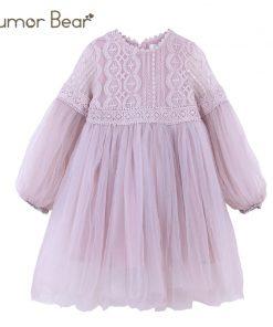 Humor Bear 2018 Autumn&summer Girl Dress Brand Girls Clothes Princess Dress Kids Clothes Baby Children Clothes Birthday Dress  1