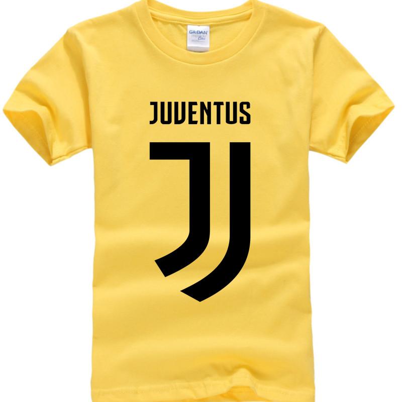 2017 New Juventus print Girls Boys T Shirt short bianconeri Camiseta fans club T-Shirt Casual Italian Gianluigi Buffon Tops Tees 1