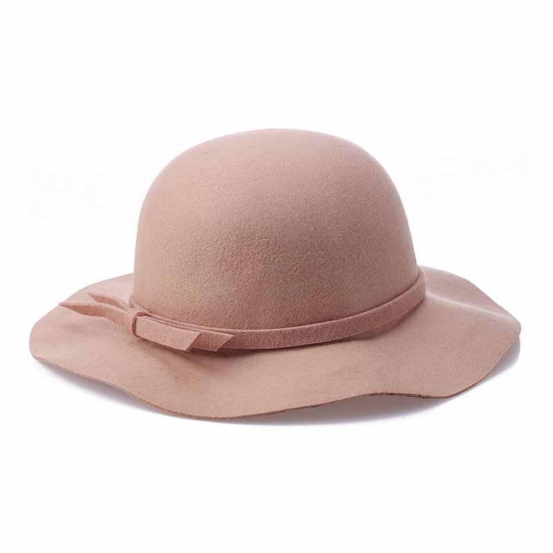 FS New Gray Wool Felt Fedoras Panama Hat Black Wide Brim Bowler Hats For Women Red Classic England Style Cloche Chapeau 1