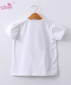Summer Funny Cat Sequin T-shirt Girls Casual Cotton O-neck Tee Tops Kids T Shirt Clothing Boys Cotton T shirts 2-12y 1
