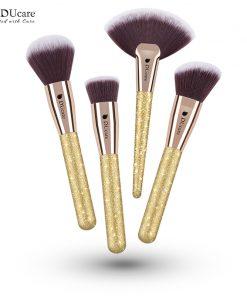 DUcare 4 PCS Makeup Brushes Set Foundation Powder Contour Highlighter Brush Make Up Tools Kit 1