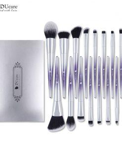 DUcare 17 PCS Makeup Brushes Set Foundation Powder Eyeshadow Eyebrow Brushes for Makeup Cosmetic Tool Kit 1
