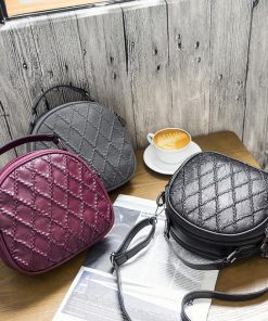 REPRCLA Fashion Plaid Women Shoulder Bag High Quality Handbags Designer Crossbody Bags for Women Messenger Bags PU Leather 1