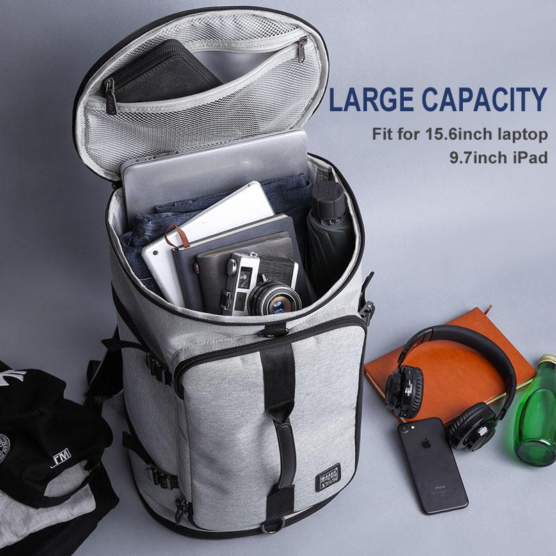 KAKA Large Capacity 15.6 inch Laptop bag Men Backpack Travel Bags For Teenagers School Bags Nylon Waterproof Computer Backpacks  1