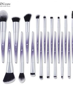 DUcare Brushes for Makeup 9/17 PCS Brush Set Eyeshadow Powder Eyebrow Foundation Brush Synthetic Hair Make Up Cosmetic Tools