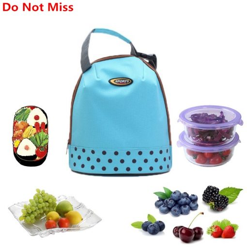 Do Not Miss Picnic Bag Protable Ice Bag Oxford Hand Carry Thickened Cooler Pack 4 Color Lunch Package Food Thermal Organizer Bag