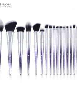 DUcare Brushes for Makeup 9/17 PCS Brush Set Eyeshadow Powder Eyebrow Foundation Brush Synthetic Hair Make Up Cosmetic Tools 1