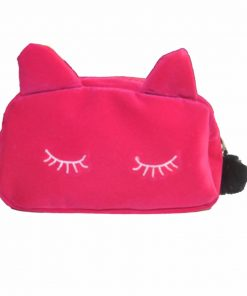 Cute Cat Make Up Bag for Women Travel Toiletry Make Up Bags Makeup Suitcase Case Storage Pouch Women Cosmetic Bag Organizer Hot