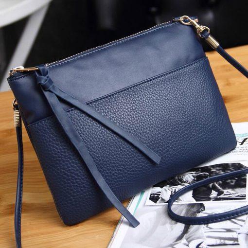 New High Quality Women Clutch Bag Fashion PU Leather Handbags Flap Shoulder Bag Ladies Messenger Bags Crossbody Purse 9L51 3