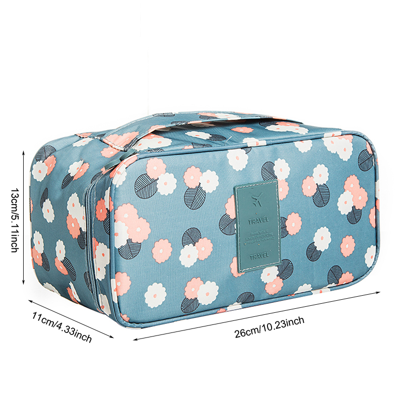 Mihawk Travel Bags For Bra Underwear Clothing Women's Fashion Toiletry Cosmetic Storage Bag Organizer Pouch Accessories Product 1