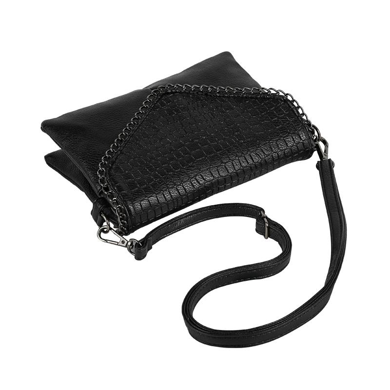 YBYT brand 2018 new vintage casual chains alligator women clutch hotsale ladies party purse shoulder messenger crossbody bags 2