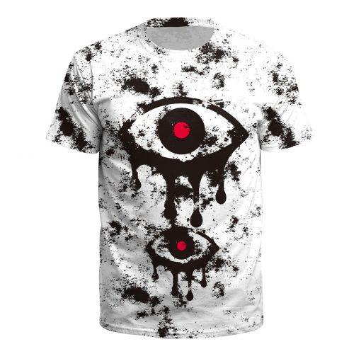 satan T shirt death scary evil Hip Hop satanism grim reaper T-shirt supernatura Men/women tshirt american horror story 2