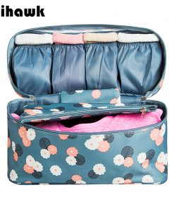 Mihawk Travel Bags For Bra Underwear Clothing Women's Fashion Toiletry Cosmetic Storage Bag Organizer Pouch Accessories Product