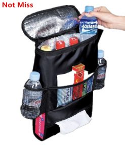 Selling Auto Food Beverage Storage Organizer Bag Nsulated Container Basket Picnic Lunch Dinner Bag Ice Pack Cooler Item Product