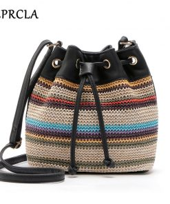 REPRCLA New Color Bucket Bag Fashion Women Shoulder Bags High Quality Crossbody Messenger Bags PU Leather Designer Women Bags