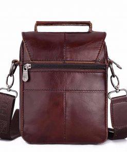 FUZHINIAO Zipper Design Men Travel Bags Genuine Leather Messenger Bag For Fashion High Quality Cross Body Shoulder Bags Small 1