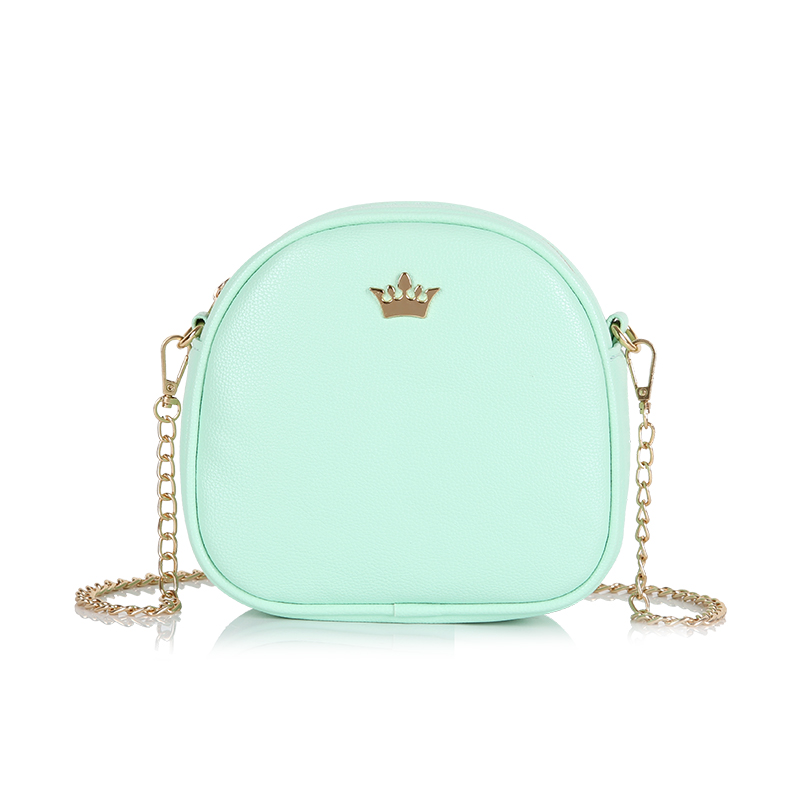 YBYT brand 2018 new mini fashion Imperial crown circular package high quality lady shopping handbag women shoulder messenger bag 1