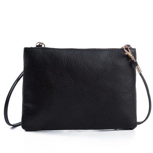 New High Quality Women Clutch Bag Fashion PU Leather Handbags Flap Shoulder Bag Ladies Messenger Bags Crossbody Purse 9L51 4