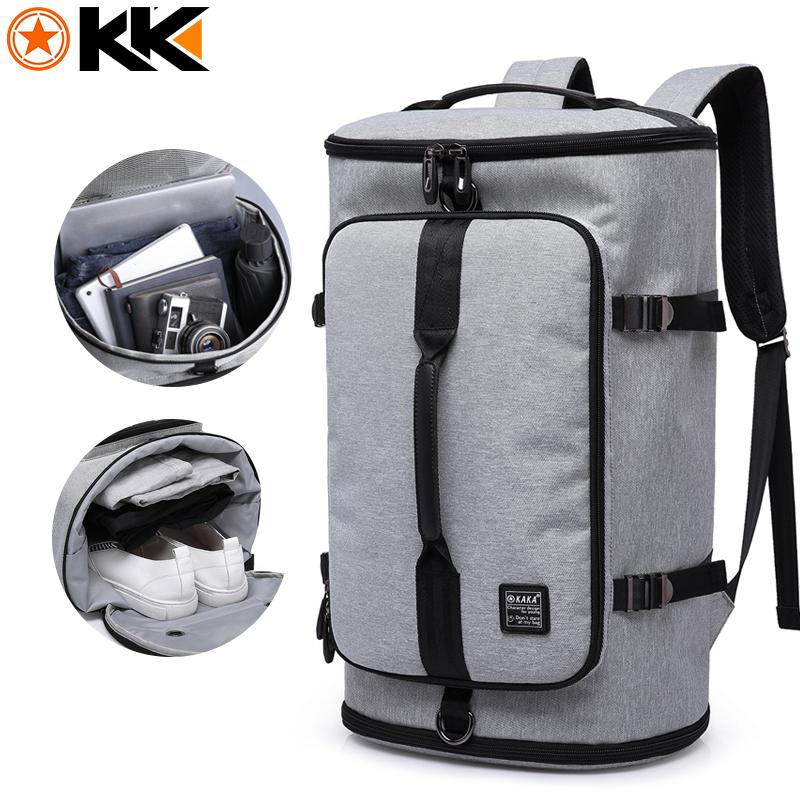 KAKA Large Capacity 15.6 inch Laptop bag Men Backpack Travel Bags For Teenagers School Bags Nylon Waterproof Computer Backpacks