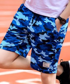 4 color Camouflage Men Sporting Beaching Shorts Trousers Cotton Bodybuilding Sweatpants Fitness Short Jogger Casual Gyms Men 1