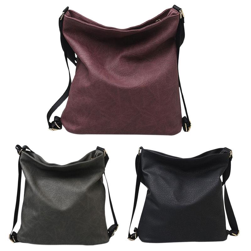 Luxury Handbags Women Famous Designer Women PU Leather Shoulder Bag Fashion Female Large Tote Handbags Vintage Shopping Bags Hot 1