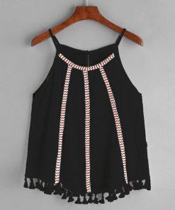 Women's shirts 2017 sleeveless women summer blouses round neck casual ladies sleeveless women blouses solid o-neck summer tops