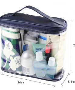 Mihawk Transparent Toiletry Cosmetic Bag Organizer Beauty Products Brushes Lipstick Bags Travel Special Purpose Makeup Cases 1