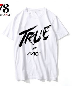 AVICII t shirt rip DJ music mens casual t-shirt man 10 color tshirt top tees