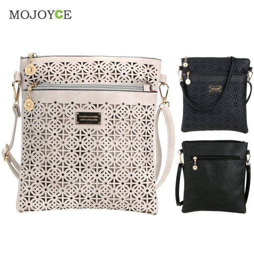 Luxury Handbags Women Bags Designer Hollow Out Women Messenger Bags Shoulder Crossbody Bag Women Leather Handbags Bolsa Feminina 1