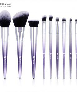 DUcare 9 PCS Makeup Brush Set Makeup Brushes Powder Eyeshadow Foundation  Concealer Eyebrow Brush Cosmetic Tools