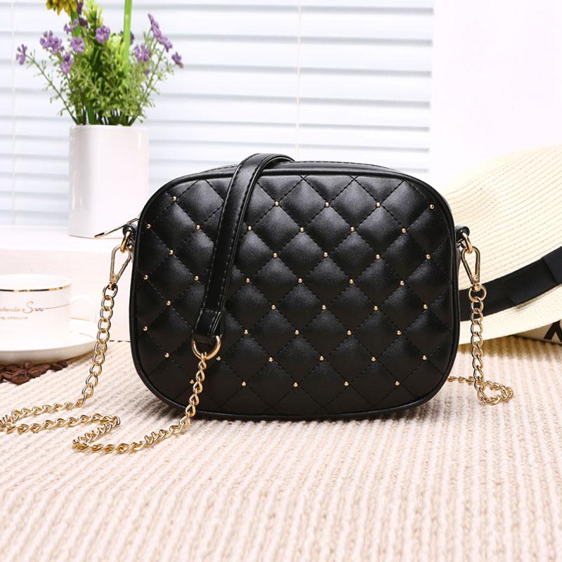 Hot Sale Women Messenger Bags Brand Designer Shoulder Bags Rivet Chain Strap Crossbody Bags For Women Bolas Feminina 1