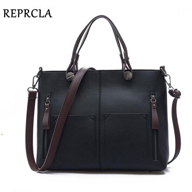 New Vintage Designer PU Leather Handbags High Quality Women Shoulder Bags Crossbody Top-handle Tote Bags Bolsas Feminina