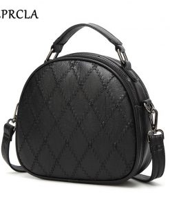 REPRCLA Fashion Plaid Women Shoulder Bag High Quality Handbags Designer Crossbody Bags for Women Messenger Bags PU Leather