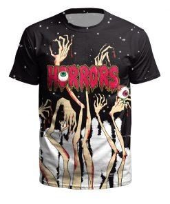 satan T shirt death scary evil Hip Hop satanism grim reaper T-shirt supernatura Men/women tshirt american horror story