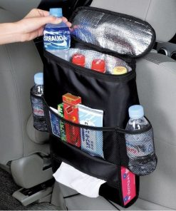 Selling Auto Food Beverage Storage Organizer Bag Nsulated Container Basket Picnic Lunch Dinner Bag Ice Pack Cooler Item Product 1