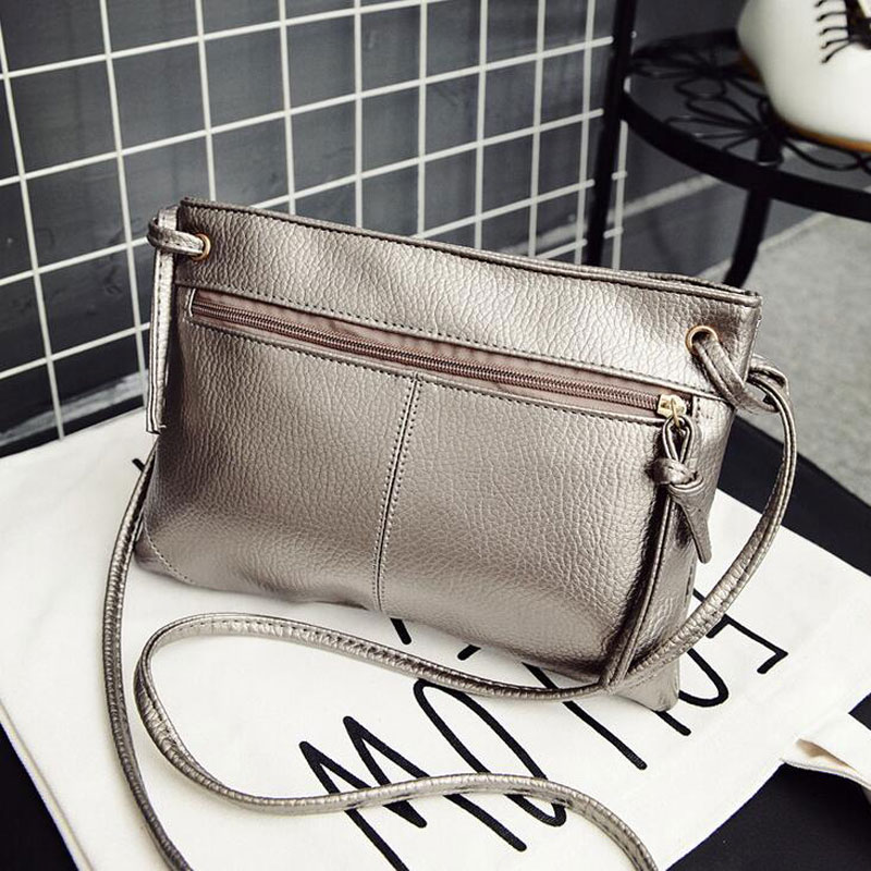 New Fashion Zipper Women Bag Soft PU Leather Women Messenger Bags Brand Designer Handbags Crossbody Ladies Shoulder Bags 1
