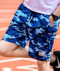 Varsanol Camouflage Shorts Mens Military Style Casual Shorts Men's Summer Beach Shorts New Fashion Streetwear Elastic Waist 920 1