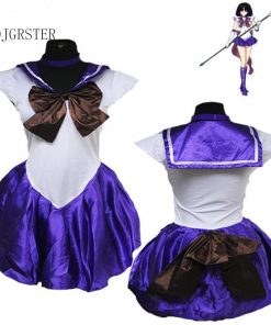 DJGRSTER Hot! Sailor Moon Cosplay Navy Sailor School Uniform Performance Costumes Kawaii Halloween Cosplay Costume Woman Dress