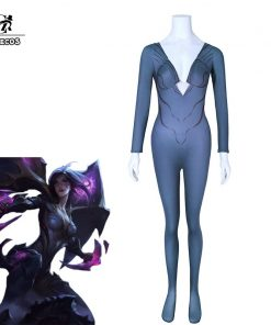 ROLECOS Game LOL Cosplay Costume Kaisa Cosplay Women Jumpsuits Costumes LOL New Character Daughter of the Void Hero
