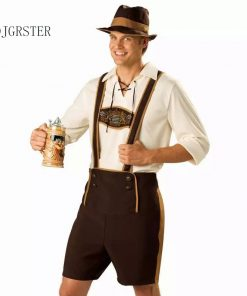 DJGRSTER  Halloween Men's Clothing Adult Hansell Munich Beer Festival, German Bavaria beer cosplay costume Halloween Costumes