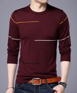 Brand Sweater Men 2018 New Spring Casual O-Neck Sweaters Male High Quality Pullover Mens M-3XL 1