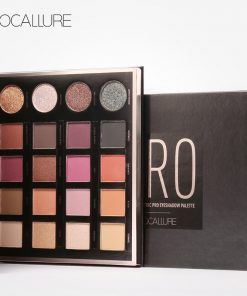 FOCALLURE New 20 Colors Matte&Electric Pro Eyeshadow Shimmer Nude Glitter Shadow Palette Magic Star Collection 1