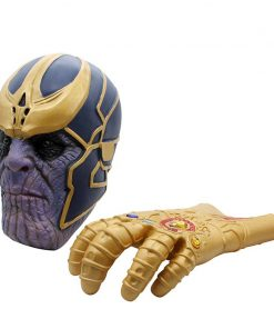 LIVA GIRL Avengers: Infinity War Cosplay Costumes Thanos Infinity Gauntlet Gloves Armor With Mask 1