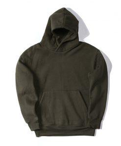 New Streetwear Pullovers Drake Kanye West Plain Fleece Oversized Hoodie Kpop Clothes Tracksuit Hoodies Men Hip Hop 1