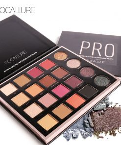 FOCALLURE New 20 Colors Matte&Electric Pro Eyeshadow Shimmer Nude Glitter Shadow Palette Magic Star Collection