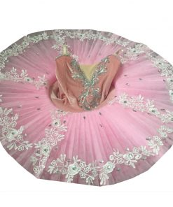 Professional Pancake Tutus Ballet Dress A Dance Outfit Ballerina Dress for Children Swan Lake Costume Danse Enfant 1