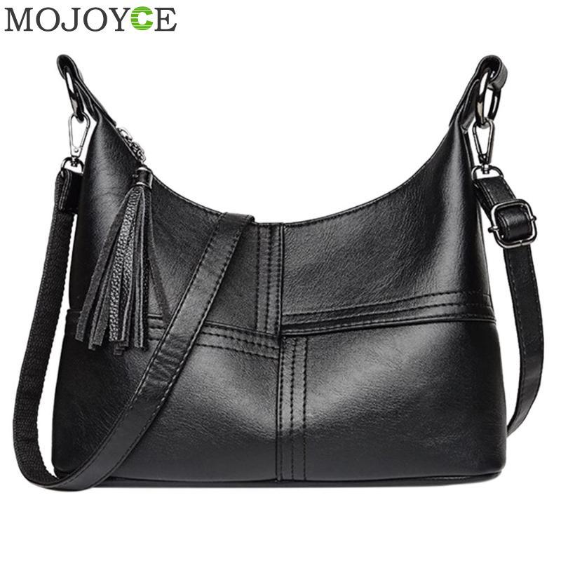 Women Leather Handbags Women Zipper Hobo Messenger Bags Designer Crossbody Bag Women Bolsa Top-handle Bags Tote Shoulder Bags