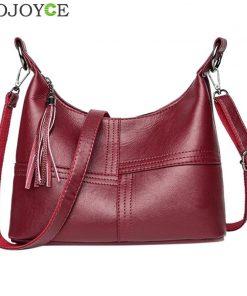 Women Leather Handbags Women Zipper Hobo Messenger Bags Designer Crossbody Bag Women Bolsa Top-handle Bags Tote Shoulder Bags  1