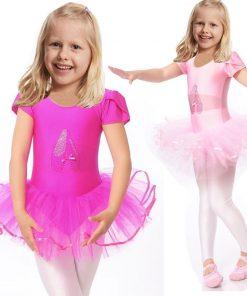 2016 Cute Girls Ballet Dress For Children Girl Dance Clothing Kids Ballet Costumes For Girls Dance Leotard Girl Dancewear